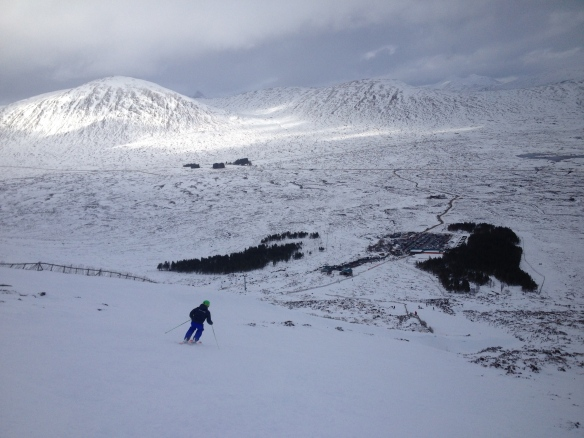 skiing at Glencoe