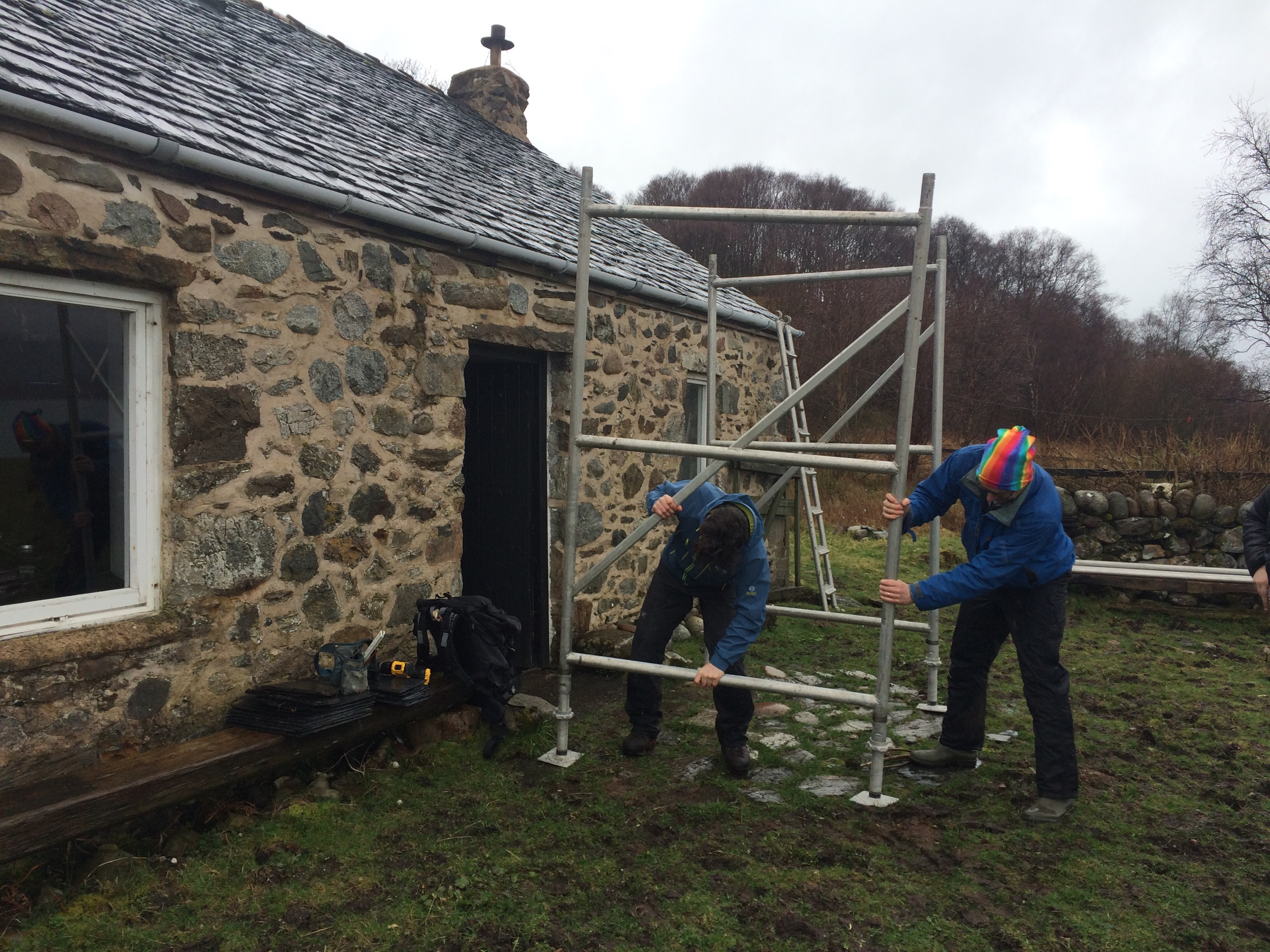 Building The House At Cuil Bay Cuil Things To Do